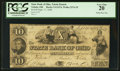 Obsoletes By State:Ohio, Toledo, OH- The State Bank of Ohio-Toledo Branch $10 Sept. 17,1846G1474 Wolka 2576-29. ...