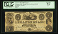 Obsoletes By State:Ohio, Lebanon, OH- The Lebanon Miami Banking Co. $5 Nov. 16, 1840 G34Wolka 1455-25. ...