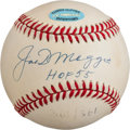 Autographs:Baseballs, Late 1990's Joe DiMaggio Single Signed Baseball....