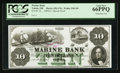 Obsoletes By State:Ohio, Toledo, OH- Marine Bank $10 UNL Wolka 2562-09 Special Proof. ...