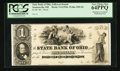 Obsoletes By State:Ohio, Steubenville, OH, The State Bank of Ohio-Jefferson Branch $1G-1352b Wolka 2482-06 Proof. ...