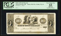 Obsoletes By State:Ohio, Mount Pleasant, OH- Bank of Mount Pleasant $10 Haxby 300-UNL Wolka1721-15 Proof. ...