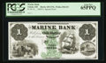 Obsoletes By State:Ohio, Toledo, OH- Marine Bank $1 UNL Wolka 2562-03 Special Proof. ...