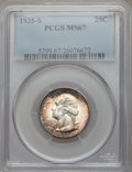 Washington Quarters, 1935-S 25C MS67 PCGS....
