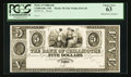 Obsoletes By State:Ohio, Chillicothe, OH- Bank of Chillicothe $5 G44 Wolka 0341-40 Proof....