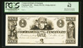 Obsoletes By State:Ohio, Cincinnati, OH- The Commercial Bank of Cincinnati $1 Wolka 0425-01Proof. ...