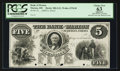 Obsoletes By State:Ohio, Marion, OH- Bank of Marion $5 Haxby 280-G12 Wolka 1578-09 Proof....