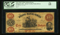 Obsoletes By State:Ohio, Bridgeport, OH- The State Bank of Ohio, Belmont Branch $10 Jan. 30,1859 G140a Wolka 0205-30. ...