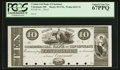 Obsoletes By State:Ohio, Cincinnati, OH- The Commercial Bank of Cincinnati $10 Wolka 0425-15Proof. ...