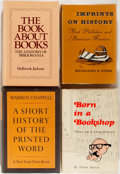 Books:Reference & Bibliography, [Books about Books]. Group of Four Books about Books. IncludesVincent Starrett's Born in a Bookshop. Various publishers...(Total: 4 Items)