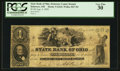 Obsoletes By State:Ohio, Delaware, OH- The State Bank of Ohio, Delaware County Branch $1Aug. 4, 1858 G624 Wolka 1027-04. ...