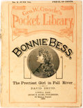 Books:Literature Pre-1900, David Druid. Bonnie Bess. The Prettiest Girl in Fall River.Lowell: Goode & Adams, 1889. The second issue in George ...