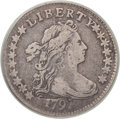 Early Dimes, 1797 10C 16 Stars VF20 PCGS. JR-1, R.4....