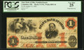 Obsoletes By State:Ohio, Columbus, OH- The State Bank of Ohio, Franklin Branch $1 Aug. 15,1862 Wolka 0893-10. ...