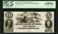 Obsoletes By State:Ohio, Columbus, OH- The State Bank of Ohio, Franklin Branch $10 G500Wolka 0893-35 Proof. ...