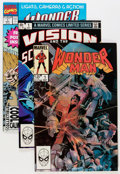 Modern Age (1980-Present):Superhero, Wonder Man/Vision and the Scarlet Witch Short Box Group (Marvel,1983-92) Condition: Average NM-....