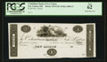 Obsoletes By State:Ohio, New Lisbon, OH- The Columbiana Bank of New Lisbon $5 G18 Wolka1848-12 Proof. ...