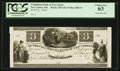 Obsoletes By State:Ohio, New Lisbon, OH- The Columbiana Bank of New Lisbon $3 G36 Wolka1848-11 Proof. ...