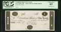 Obsoletes By State:Ohio, New Lisbon, OH- The Columbiana Bank of New Lisbon $1 G12 Wolka1848-06 Proof. ...