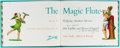 Books:Literature 1900-up, John Updike and Warren Chappell. SIGNED. The Magic Flute. New York: Knopf, [1962]. First edition, first printing. ...