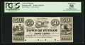Obsoletes By State:Ohio, Putnam, OH- The Town of Putnam 50¢ May 1, 1841 Wolka 2283-05. ...