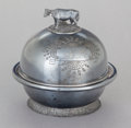 Silver Holloware, American:Other , A ROGERS SILVER-PLATED COVERED BUTTER DISH. Rogers & Bro.,Waterbury, Connecticut, circa 1880. Marks: ROGERS & BRO(radi...