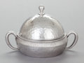 Silver Holloware, American:Other , A MERIDEN BRITANNIA COMPANY SILVER-PLATED COVERED BUTTER DISH.Meriden Brittania Company., Meriden, Connecticut, circa 1860...