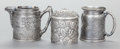 Silver Holloware, American:Other , THREE AMERICAN SILVER-PLATED HOLLOWWARE PIECES, VARIOUS MAKERS.Various makers, circa 1900. Marks: DERBY SILVER CO., DERBY...(Total: 3 Items)