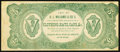 Obsoletes By State:Ohio, (Van Wert), OH- D.L. Williams & Co. $5 Undated Advertising NoteWolka 2689-01. ...