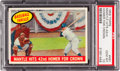 Baseball Cards:Singles (1950-1959), 1959 Topps Mickey Mantle Hits 42nd HR #461 PSA Gem MT 10 - A Pop One-of-One Condition Rarity! ...