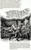 Original Comic Art:Panel Pages, Robert Crumb Kafka For Beginners (R. Crumb's Kafka)Page 67 Original Art (Totem Books, 1993)....