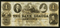 Obsoletes By State:Ohio, Painesville, OH- The Bank of Geauga $1 Wolka 2154-02 Remainder. ...