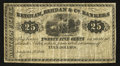 Obsoletes By State:Ohio, Toledo, OH- Ketcham, Berdan & Co. Bankers 25¢ Oct. 1, 1862Wolka UNL. ...