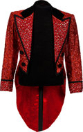 """Movie/TV Memorabilia:Costumes, A Michael York Fancy Tailcoat from """"Circus of the Stars.""""..."""