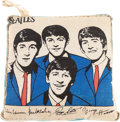 Music Memorabilia:Memorabilia, Beatles Pillow (NEMS, 1964)....