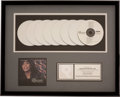Music Memorabilia:Awards, Whitney Houston The Bodyguard Original Soundtrack Album RIAACertified Sales Award (Arista 18699, 1992)....