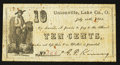 Obsoletes By State:Ohio, Unionville, OH- G.P. Kinney 10¢ July 20, 1862 Wolka 2616-02. ...