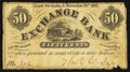 Obsoletes By State:Ohio, Upper Sandusky, OH- Thos. C. Dye at Exchange Bank 50¢ Nov. 25, 1862Wolka 2643-04. ...