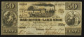 Obsoletes By State:Ohio, Urbana, OH- The Mad River and Lake Erie Rail Road Co. 50¢ June 10,1841. Wolka 2672-02 . ...