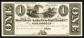 Obsoletes By State:Ohio, Urbana, OH- The Mad River and Lake Erie Rail Road Co. $1 Wolka2672-03 Proprietary Proof. ...