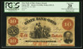 Obsoletes By State:Ohio, Salem, OH- The State Bank of Ohio, Farmers' Branch $10 Feb. 18,1861 G1298a Wolka 2359-31. ...