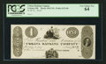 Obsoletes By State:Ohio, Urbana, OH- Urbana Banking Company $1 Haxby 430-UNL Wolka 2676-08Proof. ...