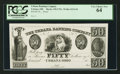 Obsoletes By State:Ohio, Urbana, OH- The Urbana Banking Company $50 Haxby 430-UNL Wolka2676-56 Proof. ...