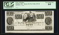 Obsoletes By State:Ohio, Hamilton, OH- The Bank of Hamilton $50 UNL Wolka 1235-24 Proof. ...