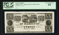 Obsoletes By State:Ohio, Hamilton, OH- The Bank of Hamilton $20 UNL Wolka 1235-21 Proof. ...