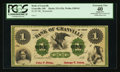 Obsoletes By State:Ohio, Granville, OH- The Bank of Granville $1 G2b Wolka 1209-01. ...