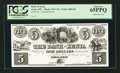 Obsoletes By State:Ohio, Xenia, OH- Bank of Xenia $5 Haxby 455-UNL Wolka 2889-08 SpecialProof. ...