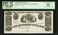 Obsoletes By State:Ohio, Urbana, OH- The Urbana Banking Company $100 UNL Wolka 2676-59Proof. ...