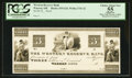 Obsoletes By State:Ohio, Warren, OH- The Western Reserve Bank $3 1815 G24 Wolka 2741-22Proof. ...