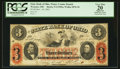 Obsoletes By State:Ohio, Wooster, OH- The State Bank of Ohio, Wayne County Branch $3 Nov.19, 1863 G1590a Wolka 2870-18. ...